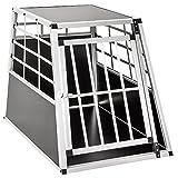 TecTake - Alu Hundetransportbox -diverse Größen- Hundebox