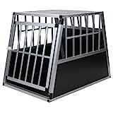 Jalano - Hundebox Gitterbox schräge / geneigte Rückseite für Kofferraum