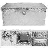 Alumium Truckbox Werkzeugbox Werkzeugkiste Anhängerbox Alubox Deichselbox Abschließbar V2Aox
