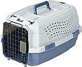 AmazonBasics Transportbox für Haustiere, 2 Türen, 1 Dachöffnung, 48cm