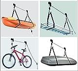 Car Face Deckenlift Deckenhalter Fahrradlift 45kg Fahrradgarage Fahrradhalter Seilzug für E-Bike inkl. KFZ Teile Potsdam Sticker
