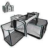 Zoolony Transporttasche für Hunde & Katzen ideal als Hundebox, Hundekorb, Katzentransportbox, Katzenkorb, Welpenbox UVM. - faltbar, pflegeleicht, groß und sicher im Auto und Flugzeug