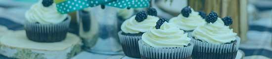 Schöne Cupcakes sicher mit einer Muffinbox von transportbox-kaufen.de