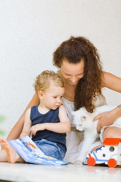 Kommen Kinder ins Revier von Katzen, können diese sich in ihrem zu Hause bedroht fühlen.
